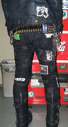 diy pants | Crust Pants: The FILTH and The FURY « CVLT Nation