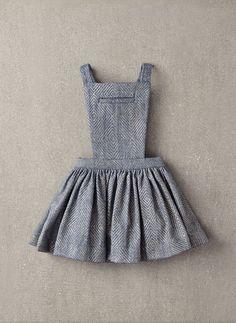 Nellystella Ella Dress in Light Grey Foil