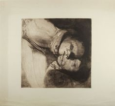 Käthe Kollwitz (Königsberg, 1867 - Moritzburg, 1945) Tod, Frau und Kind. 1910