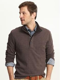 this is not a sweater that B would like...good thing I buy all his clothes!
