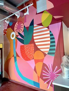 Stomping Ground Photo Custom mural and desk space murals for Stomping Ground Photo in Brooklyn, NY. Summer prev / nextBack to Murals Mural Wall Art, Graffiti Wall, Mural Painting, Posca Marker, Kunstjournal Inspiration, School Murals, Murals Street Art, Diy Art, Wall Design