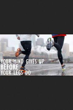 My mantra when running