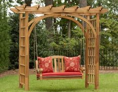 garden-trellis. How amazing with some sweet peas or a snail vine going up the sides!