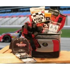 NASCAR Lovers Gift Chest -LARGE by Epicurean -- Awesome products selected by Anna Churchill
