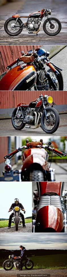 For Motorcycle fans: Fate Customs Honda CB550 Click to read the full story
