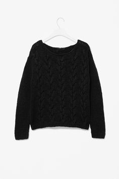 COS Cable knit jumper