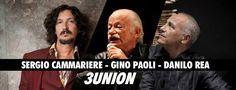 """Rimandato al 13 luglio il concerto di Gino Paoli, Sergio Cammariere e Danilo Rea, previsto per l'1 luglio all'Arena Flegrea di Napoli. """"Mi dispiace dover rimandare il concerto, ma quell…"""