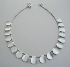 Carla Pennie Jewelry Design – Necklaces – Circle Disc Necklace