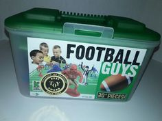 Kaskey Kids Football Guys Green 30+ Pieces Sports Figures Game Set  | Toys & Hobbies, Action Figures, Sports | eBay!