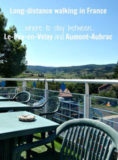 Planning a long-distance walk along the GR 65, Chemin de Saint-Jacques du-Puy? Learn more about your options for overnight accommodation from Le-Puy-en-Velay to Aumont-Aubrac.