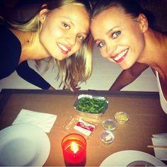 Co jedzą gwiazdy (i modelki)?, fot. instagram.com/frackowiakmagdalena