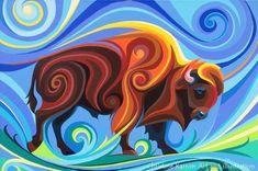 Swirl Spirits Paintings | Christine Karron Art and illustration