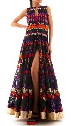 Stunning   Tribal Treasures Dress | Strandofsilk.com - Indian Designers