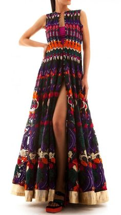 Stunning Tribal Treasures Dress | Strandofsilk.com - Indian Designers