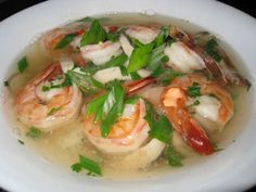 Tom Yum Goong Soup (Thai Hot and Sour Shrimp Soup)