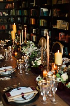 Elegant Inspiration for a Wedding in a Library | Lauren Miller Photography