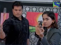 CID: Daya and Shreya.