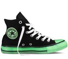 """CONVERSE CHUCK TAYLOR HIGH & LOW """"GLOW IN THE DARK"""" #sneaker"""
