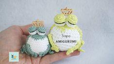 Amigurumi Tutorial, Crochet Amigurumi, Crochet Hats, Crochet Earrings, Knitting, Kids, Facebook, Youtube, Frogs