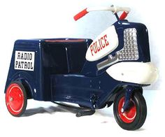 Murray Police Patrol Cycle Pedal Car.... I had one of these when I was a kid.