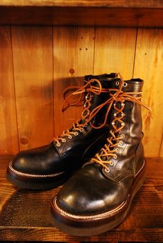 REDWING Logger vib2021BLK+Rubber heels | BRASS BLOG
