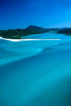 Whitehaven Beach, Queensland, Australia #Travel