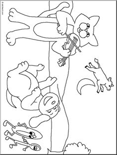 Hey Diddle Diddle Online Coloring Page | Kids Stuff | Pinterest ...