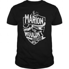 Its A MARION Thing You Wouldnt Understand Tshirt #name #beginM #holiday #gift #ideas #Popular #Everything #Videos #Shop #Animals #pets #Architecture #Art #Cars #motorcycles #Celebrities #DIY #crafts #Design #Education #Entertainment #Food #drink #Gardening #Geek #Hair #beauty #Health #fitness #History #Holidays #events #Home decor #Humor #Illustrations #posters #Kids #parenting #Men #Outdoors #Photography #Products #Quotes #Science #nature #Sports #Tattoos #Technology #Travel #Weddings…