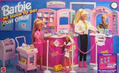 Barbie So Much To Do Post Office Playset (1995 Arcotoys, Mattel) by Arcotoys, Mattel, http://www.amazon.com/dp/B001J50OME/ref=cm_sw_r_pi_dp_OCEZrb17J5W6P