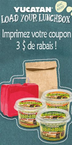 Coupon pour produits Yucatan.  http://rienquedugratuit.ca/coupons/coupon-pour-produits-yucatan/