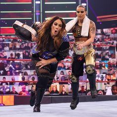 The must-see images of Raw, April 12, 2021: photos Shayna Baszler, Nia Jax, Braun Strowman, Drew Mcintyre, Wwe Champions, See Images, Superstar, Photos, Women