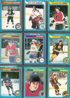 109-117 Rick Kehoe, John Davidson, Behn Wilson, Doug Jarvis, Tom Rowe, Mike Milbury, Billy Harris, Greg Fox, Curt Fraser