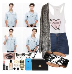 """""""Tyler Posey"""" by racheljeanxo ❤ liked on Polyvore featuring Mulberry, Dollhouse, Giorgio Armani, Tiffany & Co., Parisi and Givenchy"""