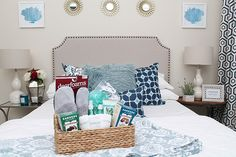 Read how to create a welcoming retreat for holiday visitors using these guest bedroom ideas and home decor from Tuesday Morning.