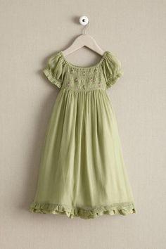 Girls Smocked Romantic Dress: #Chasingfireflies $189.00
