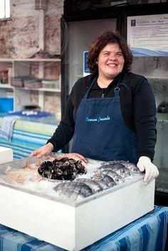 Julie Carter from Ocean Jewels Fresh Fish (Woodstock Exchange & Neighbourgoods Market)