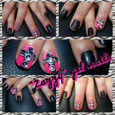 """""""Zazzy"""" Gel nails by Ashley"""
