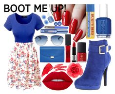 """""""Boot Me Up, Chelsea Boots, Contest, <3"""" by icy-frappe on Polyvore featuring 2 Lips Too, LE3NO, Essie, Lime Crime, claire's, NARS Cosmetics, MAKE UP FOR EVER, Maybelline, Mansur Gavriel and Christian Dior"""