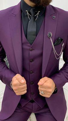 Outfits Hombre, Slim Fit Suits, Formal Suits, Suit Vest, Men's Suits, Black Suits, Wedding Invitation Suite, Wedding Suits, Men Dress