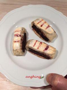 biscotti all'amarena Baked Potato, Buffet, Berries, Cheesecake, Cherry, Baking, Ethnic Recipes, Desserts, Food