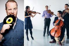 BISQC: SPIN CYCLE The Afiara String Quartet and DJ Skratch Bastid | Banff Centre