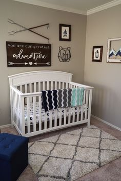 Trendy Ideas For Baby Nursery Neutral Navy Baby Bedroom, Baby Boy Rooms, Baby Room Decor, Baby Boy Nurseries, Nursery Room, Baby Boy Nursery Themes, Baby Nursery Ideas For Boy, Country Baby Rooms, Boy Nursery Colors