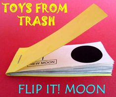A great idea to create many other kinds of Flip books. Get creative making your own cartoon strip etc.