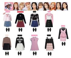 A fashion look from January 2017 featuring givenchy dress, intarsia sweaters and cut-out crop tops. Browse and shop related looks. Blackpink Fashion, Korea Fashion, Asian Fashion, Fashion Looks, Fashion Outfits, Womens Fashion, Stage Outfits, Kpop Outfits, Cute Outfits