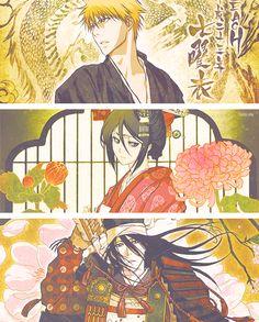 Ichigo. Rukia. Byakuya.