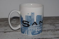Starbucks San Diego Skyline Mug Series One 2002 Excellent