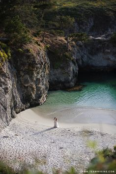 China Cove in Carmel, California - not even far! Maybe stop in Carmel on the same trip as Big Sur? :D