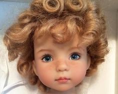 Dianna-Effner-13-Little-Darling. This doll was painted by Dianna on 1/6/14. On ebay. SOLD for $1,525.00 on 12/13/14