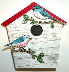 DH pair of old birds by diane617 - Cards and Paper Crafts at Splitcoaststampers