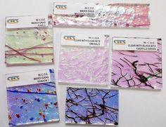CBS Specialty Premium 1/4 lb (4oz) 90 COE Clear Dichroic Glass Asst. - Sweet! #CBS